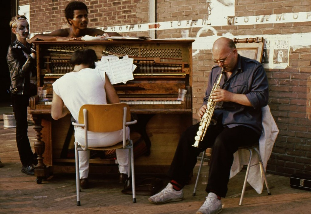 Lol Coxhill by Dave Walkling